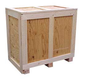 shipping containers these wooden shipping crates come in a variety of styles such as front end top and ramp load depending on your application - Wooden Shipping Crates